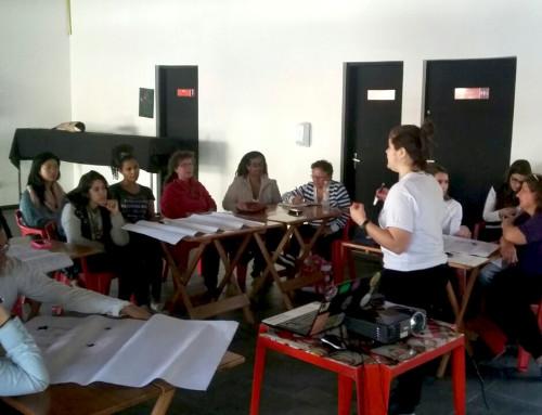 Formação em saúde e segurança no trabalho para grupos produtivos